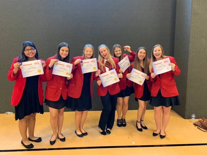 FCCLA Officers Go To State