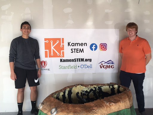 Jenks High School Students Create Non-Profit: Kamen STEM