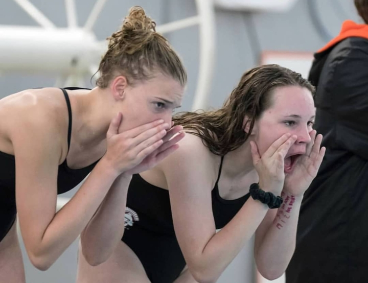 Making a Splash at State: Girls Swim Team Makes a Comeback