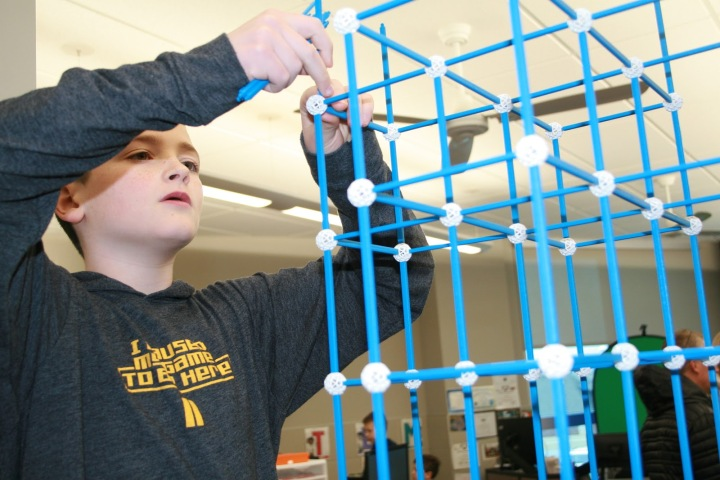 Getting a Headstart: Northwest Elementary Students Build in STEM Lab